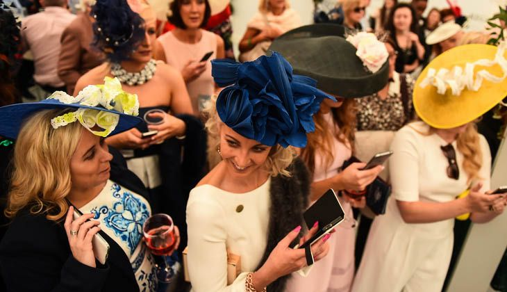 Moet and Chandon Champion Hat - Ladies Day